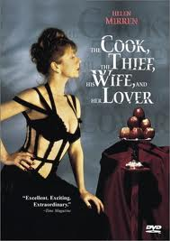 El cocinero, el ladrón, su mjer y su amante; una de sus obras más conocidas