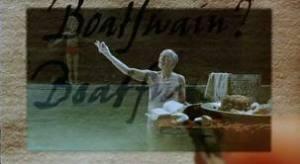 """John Gielgud, en """"Los libros de Próspero"""""""