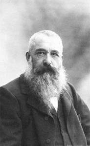 Claude Monet con su imponente barba