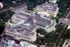 Imagen aérea del Grand Palais, en París