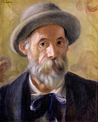 Autorretrato de Pierre-Auguste Renoir