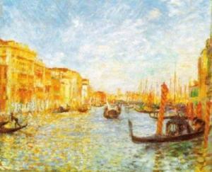 Venecia le sirvió como inspiración