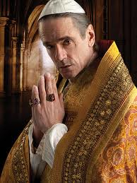 Jeremy Irons da vida al Papa Alejandro VI