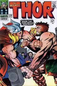 Thor apareció en Joruney Into The Mistery en 1962, y fue una idea de Stan Lee y Jack Kirby
