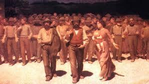 Giuseppe Pelizza de Volpedo es uno de los artistas destacados en la colección permanente del Museo del Nocevento