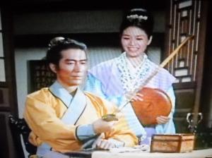 El protagonista, Lin Chung, era acusado de asesinato y su esposa perdía la vida