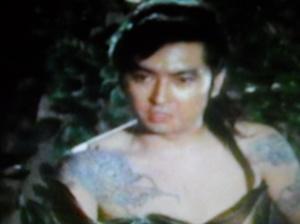 El dragón tatuado (Teruhiko Aoi) es uno de los personajes más recordados