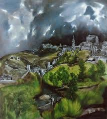 El artista estableció su residencia en Toledo en 1577