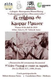 """En """"El enigma de Gaspar Hauser"""", el creador germano dio rienda suelta a otra de sus pasiones: la Historia"""