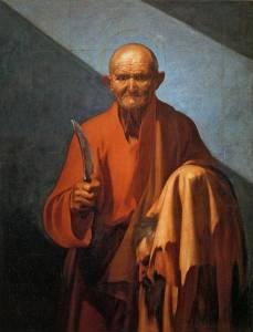 """San Bartolomé"", perteneciente a la colección de la Fondazione di Studi di Storia dell' Arte Roberto Longhi"