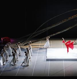 """El ballet nacional de China participará con el relato tradicional """"The Peony Pavilion""""/ Photo: Liu Yang"""