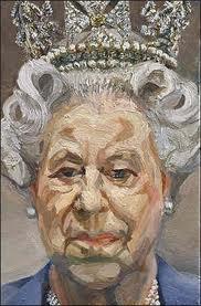 El artista se ganó numerosas críticas por este retrato de Isabel II