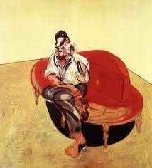Francis Bacon pintó una imagen de su amigo Lucien Freud