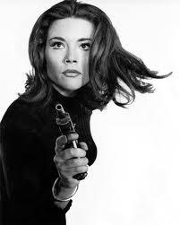 """Diana Rigg finalizó su trayectoria en """"Los Vengadores"""" para conertirse en una chica Bond"""