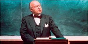 La serie se basaba en un filme de 1973 sobre las clases de un severo profesor de Derecho Mercantil