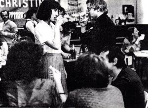"""Una de sus primeras apariciones en el cine francés fue en """"La Provinciale"""", de Claude Goretta, con Nathalie Baye"""