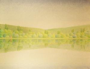La obra del artista español se caracteriza por su expresiva luminosidad