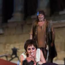 Belén regresa a los escenarios con este trabajo, después de un tiempo alejada de los mismos/ Photo Credits: Festival de Teatro Clásico de Mérida