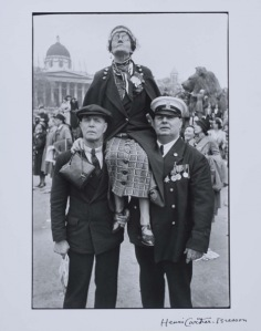 """""""Waiting In Trafalgar Square For The Coronation Parade Of King George VI"""", Henri Cartier-Bresson, 1937/ Photo Credits: Henri Cartier-Bresson, Magnum Photos"""