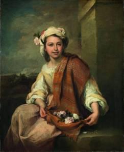 """Primavera"" (""La Florista"", 1665-1670, Dulwich Picture Gallery de Londres)"