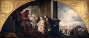 Fundación de Santa María Maggiore de Roma, II. El patricio revela su sueño al Papa Liberio, 1662-1665