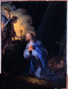 """""""La oración en el huerto"""", Musée du Louvre"""