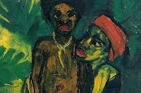 El primitivismo tomó en Gauguin soluciones revolucionarias respecto a la perspectiva y composición del lienzo