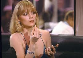 """El submundo de la violencia es algo que Pfeiffer conoce desde """"Scarface"""""""