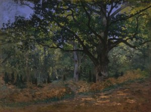 Uno de los temas recurrentes fue el del bosque de Fontainebleau