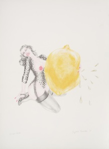 "Margaret Harrison, ""Take One Lemon"", 1971/ Photo Credits: Margaret Harrison"