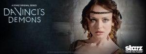 Laura Haddock hace en el serial de la bella Lucrezia Donati/ Photo Credits: Starz