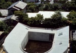 White U (house), 1975-76, Nakano-ku, Tokyo, Japan/ Photo Credits: Koji Taki