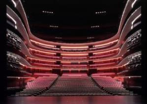 Matsumoto Performing Arts Centre, 2000-2004, Matsumoto-shi, Nagano, Japan/ Photo Credits: Hiroshi Ueda