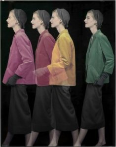 Moda de primavera de 1953, imagen para Vogue/ Photo Credits: The Estate of Erwin Blumenfeld