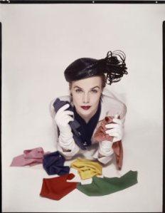Lilian Macusson para la portada de la edición americana de American Vogue, enero de 1951/ Photo Credits: The Estate Of Erwin Blumenfeld