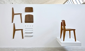 Las sillas de Jean Prouvé son de las más valoradas en el mercado internacional/ Photo Credits: Thomas Lannes y Gagosian Gallery