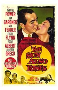 """El filme se desarrolla en la época del rodaje de """"Fiesta"""" (Henry King, 1957)"""