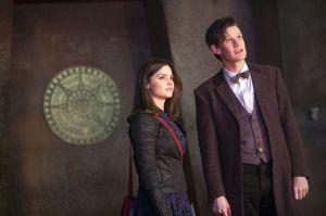 La nueva compañera del Doctor Who, Jenna Coleman, hace en la miniserie de la caprichosa Lydia